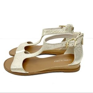 Kenneth Cole NEW Judd Gold Sandals Size 7.5